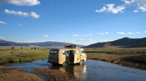 Family Journey Among Nomads, Khangai Mountains, Mongolia