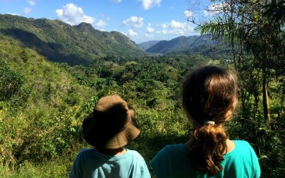 Cuba With Kids: The Waterfalls of El Nicho
