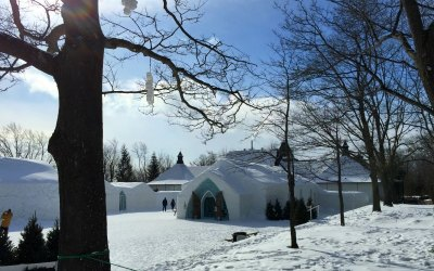 Canada with Kids: Staying at Québec's Ice Hotel with Kids