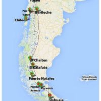 From Pucon to Ushuaia: Our route through Patagonia