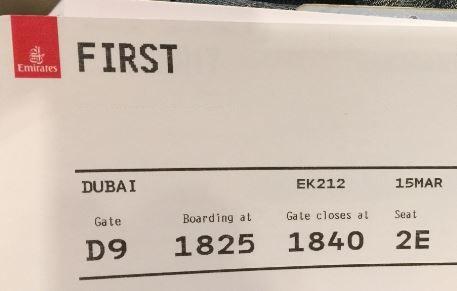 emirates boarding iah-dxb
