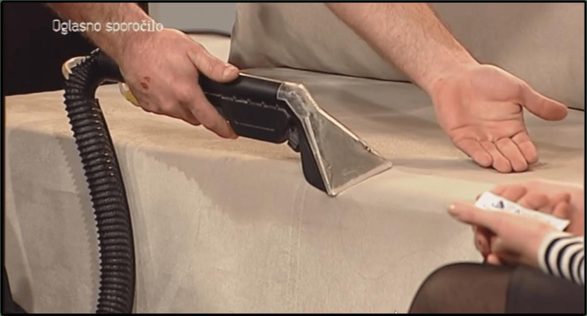 Oddaja Ob Kavi - Globinsko čiščenje sedežne garniture