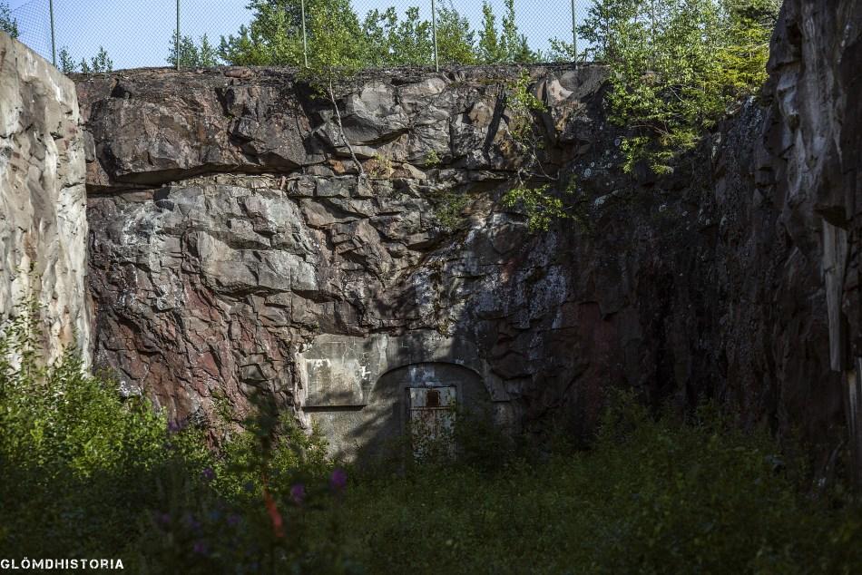 Degerbergsfortet - Bodens Fästning