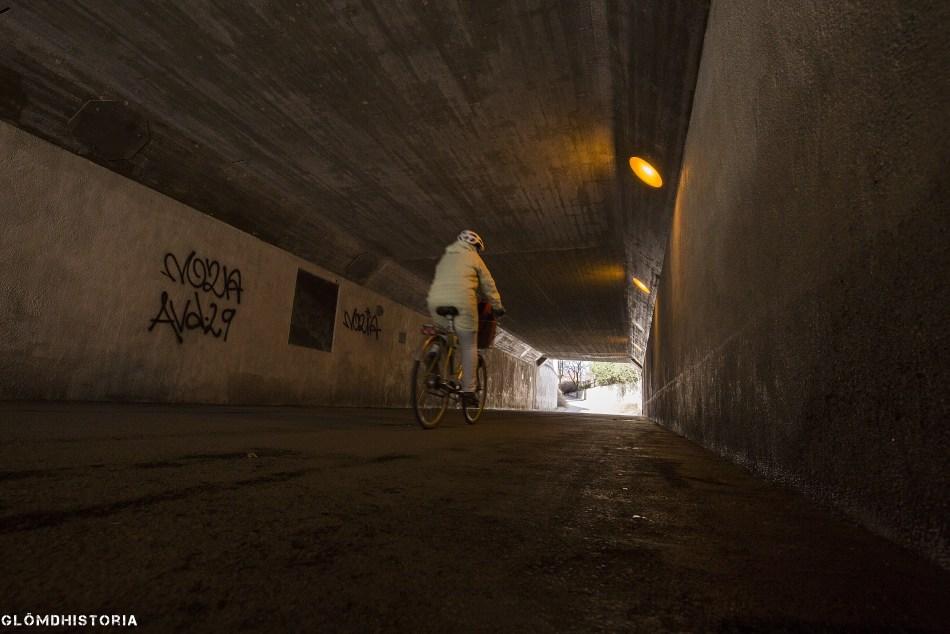 Skyddsrum tunnel