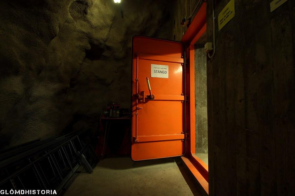 Bergrum ledningscentral