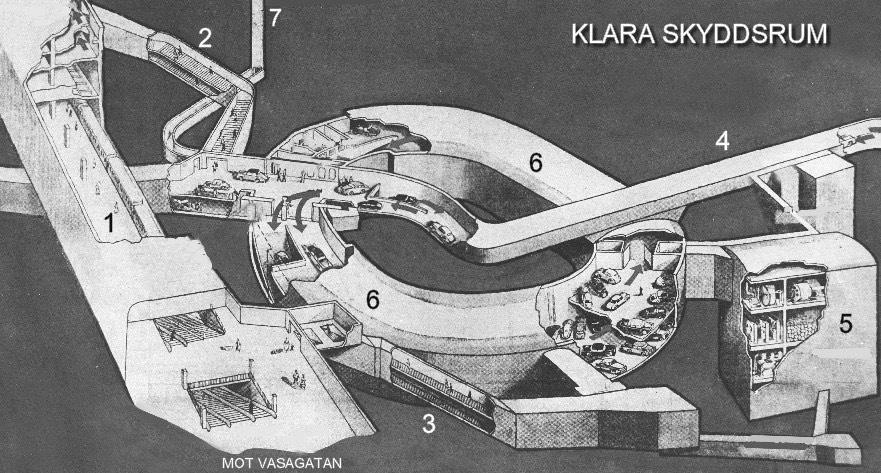 Klara skyddsrum