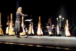 Gloria Galante WCU Harpfest