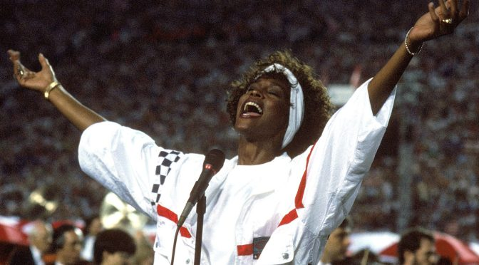 Whitney Houston Super Bowl XXV: New York Giants v Buffalo Bills