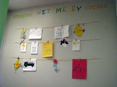 Homemade Peel & Stick Wall Decals