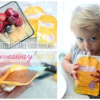 ReSqueeze: Reusable Toddler Food Pouches