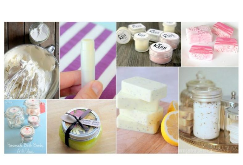 homemade beauty gifts