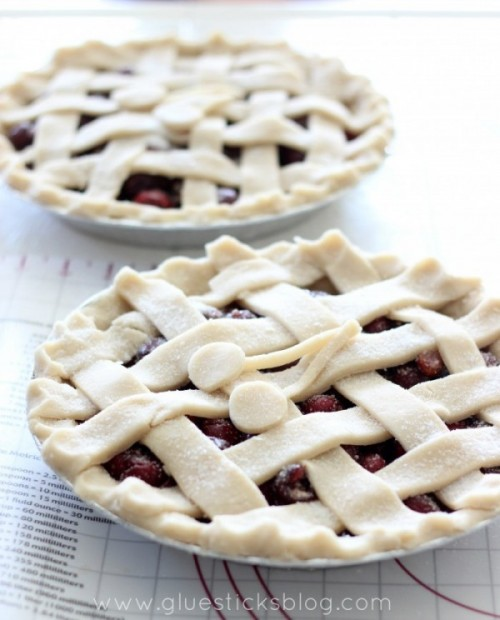 Fresh Bing Cherry Pie Recipe