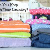 How Do You Keep Up With Your Laundry?
