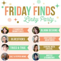 Friday Finds Link Party {week 13}