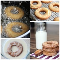 Old Fashioned Sour Cream Doughnuts
