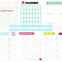 Printable Holiday Planner {& Stress-Free Holiday Tips!}