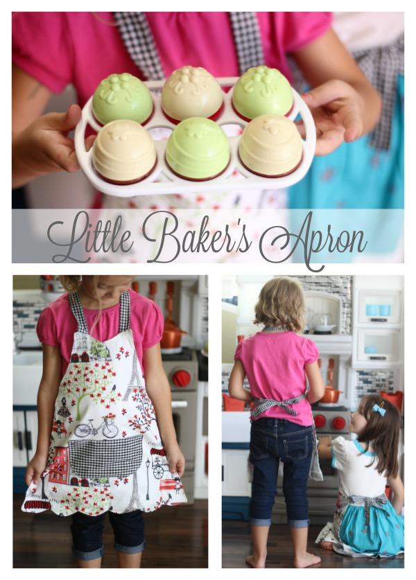 Little Baker's Apron Tutorial