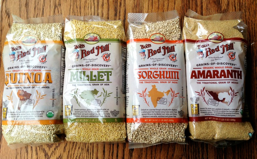 Bob's red mill grains