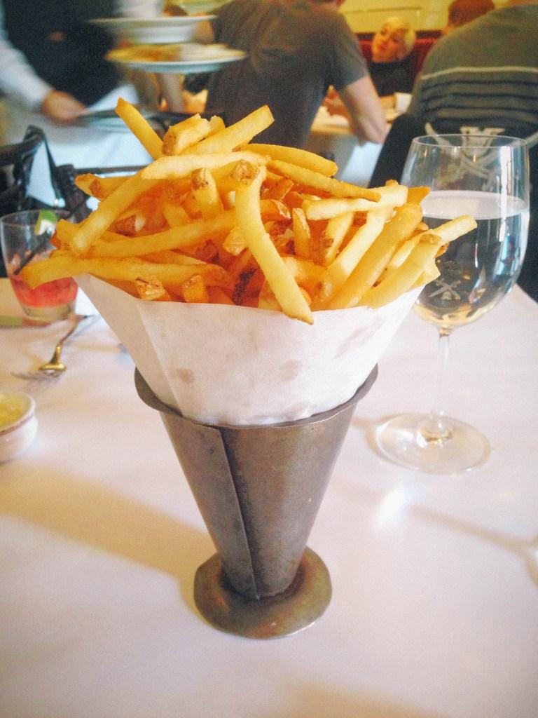 Napa- bouchon fries