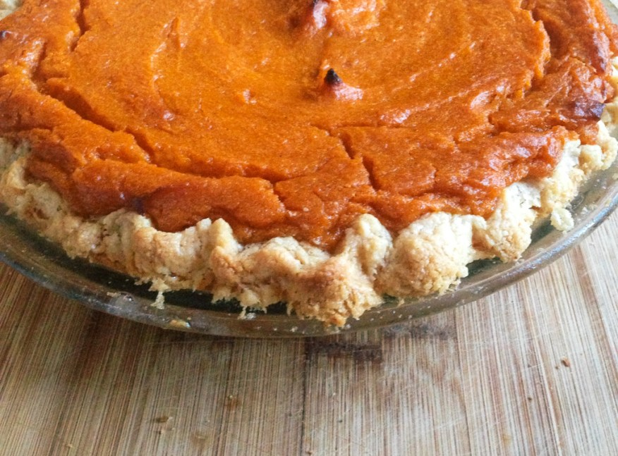 grain-free sweet potato pie