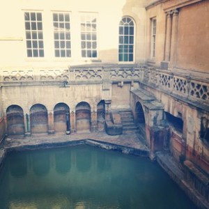 Gorgeous views of the Roman Baths