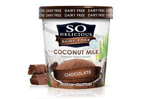So Delicious Coconut Milk Dairy Free Frozen Dessert, one of the best vegan ice cream brands