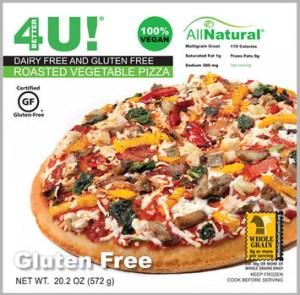 Better 4 U Pizza Gluten Free Dairy Free