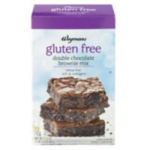 Wegmans gluten free brownie mix