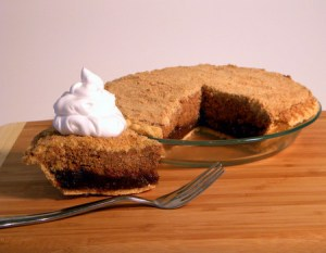 gluten free shoe fly pie