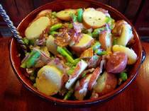 Potato Green Bean Salad.  2009 © Teri Lee Gruss