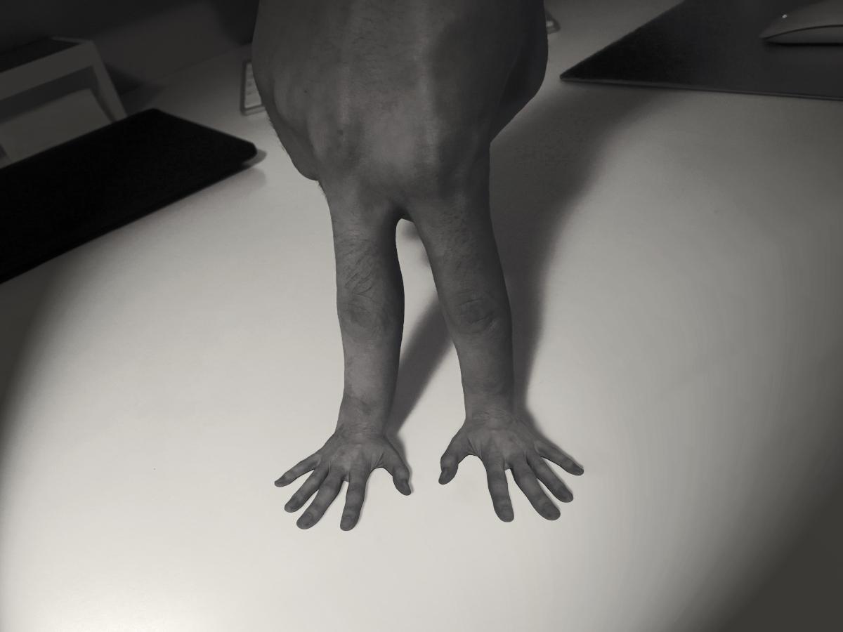Zuviel Finger im Spiel