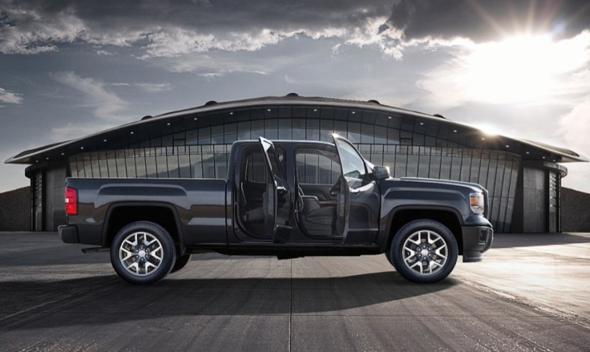 This Is The 2014 GMC Sierra With The All Terrain Package   GM Authority 2014 GMC Sierra