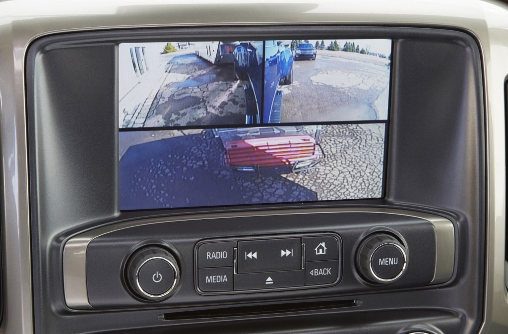 GMC Blind Spot Assist Towing Camera Package   GM Authority