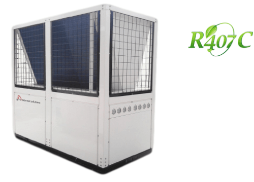 GMC Aircon - 91KW Industrial and Commercial Heat Pump System