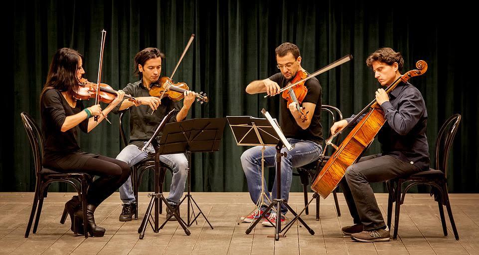 Mirus Quartet e Maria Perrotta in tour con Thomas Adès e Shostakovich