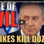 Zionist Warmongers Slaughter Scores of Iranians in Unprovoked Attack