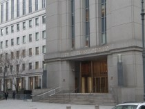 Exterior of US Southern District of New York courthouse