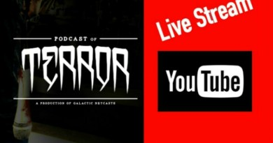 Recording Podcast of Terror – #9 Nightmare Vs Hellraiser