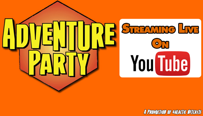LIVE: Adventure Party #40 – Ben Gerber and Game Design, Blogging, and Postcasting