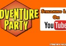 LIVE: Adventure Party #39 – Rob Wieland and Freelancing