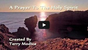 Holy Spirit prayer video