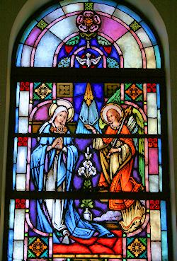Joyful Mysteries  - The Annunciation