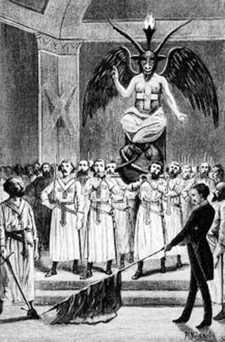 baphomet templars Who is Baphomet?