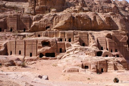 Petra cave temples 1024x685 Lost Tribe of Judah Found: The Scattered Children of Bab El