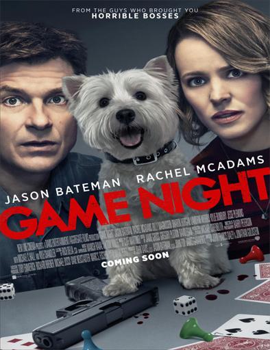 Poster de Game Night (Noche de juegos)