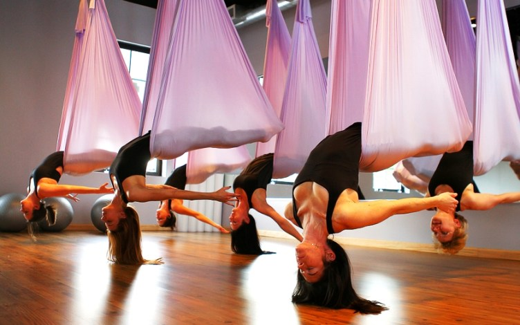 fitness trends - aerial fitness