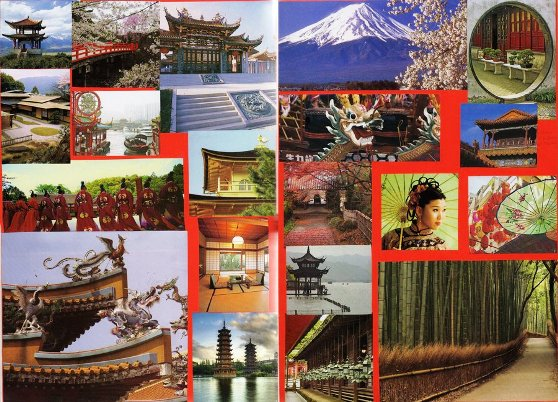 Japan, the Land of the Rising Sun