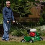 Rent dethatcher for your big gardening projects