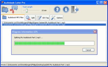 Audiobook MP3 Audio Cutter Pro