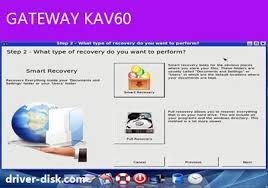 Gateway kav60 Drivers